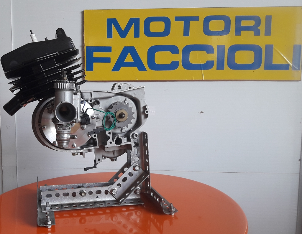 motore finito itom disco rotante